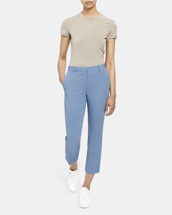 띠어리 Theory Knit Cropped Tailored Trouser