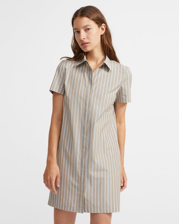 띠어리 원피스 Theory Buttondown dress,MULTI