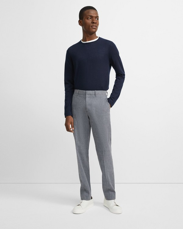 띠어리 린넨 바지 Theory Slub Linen Mayer Pant,REEF