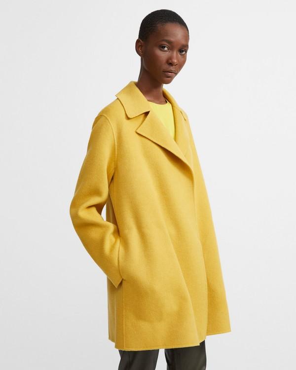 띠어리 Theory Double-Faced Overlay Coat