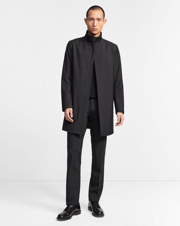 Theory Function Wool Belvin Coat