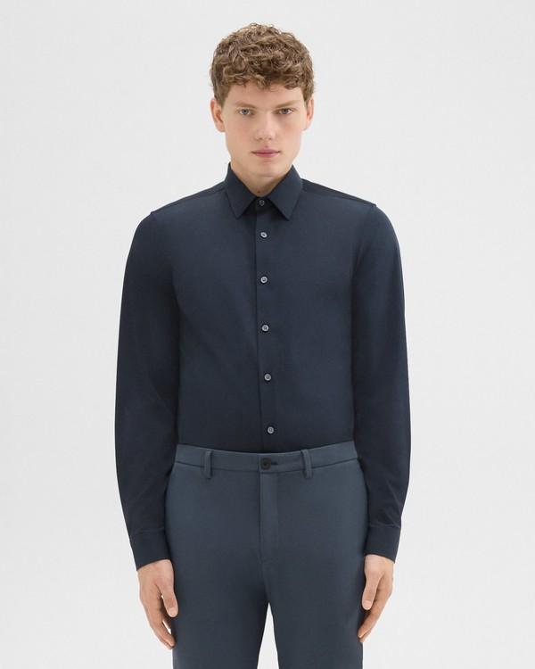 띠어리 스트럭처 니트 셔츠 Theory Structure Knit Shirt