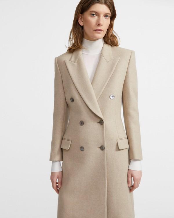 띠어리 헤비 울 트윌 테일러드 코트 - 2 컬러 Theory Heavy Wool Twill Tailored Coat