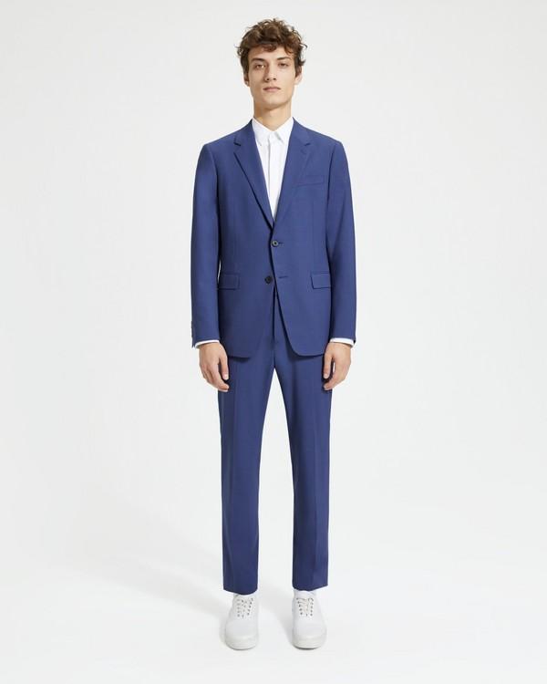 띠어리 정장 Theory Good Wool ChambersSuit,ROYAL