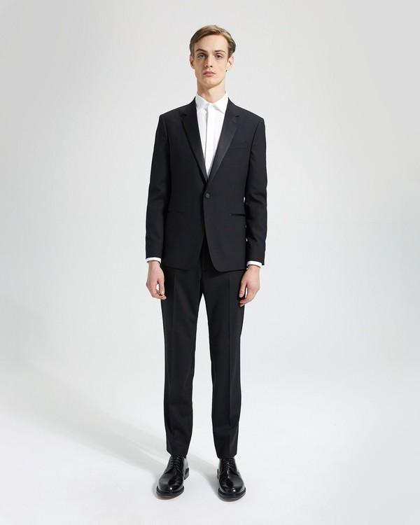 띠어리 정장 Theory Wool Chambers Tuxedo,BLACK