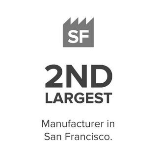 2nd largest manufacturer in San Francisco