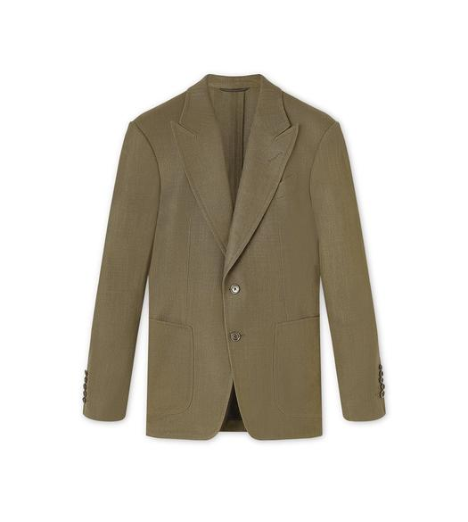VISCOSE PANAMA STRETCH SHELTON LIGHT CONSTRUCTION JACKET