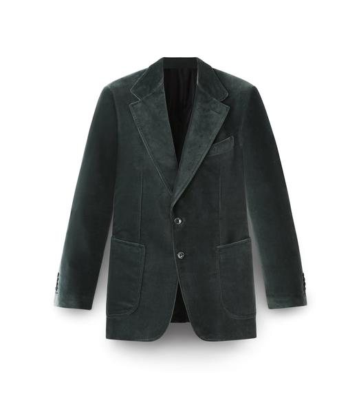 GREEN VELVET SHELTON SPORT JACKET
