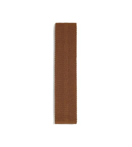 COMPACT WEAVE KNITTED TIE