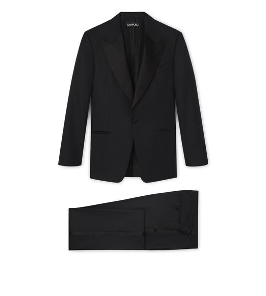 WINDSOR SUIT WITH SATIN PEAK LAPEL