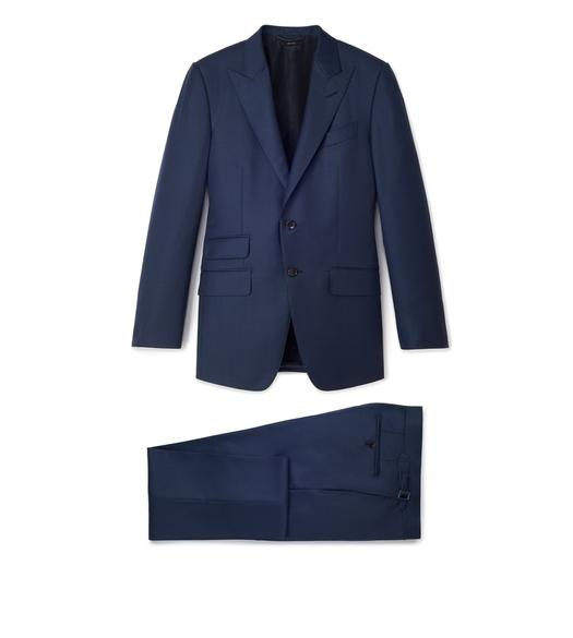 SHARKSKIN WOOL O'CONNOR SUIT