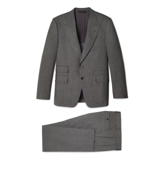 WOOL SILK SHELTON SUIT