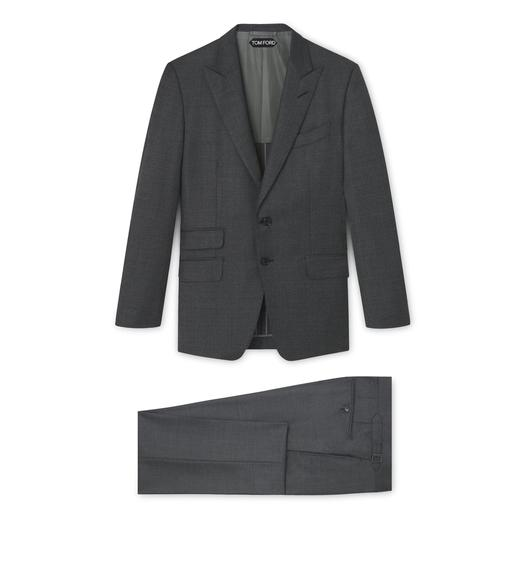 O CONNOR HALF LINED SUIT WITH PEAK LAPEL