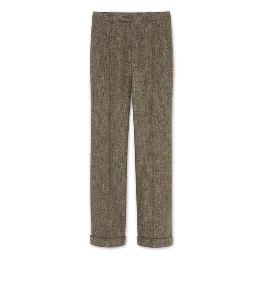 SOFT TWEED SHELTON TROUSER