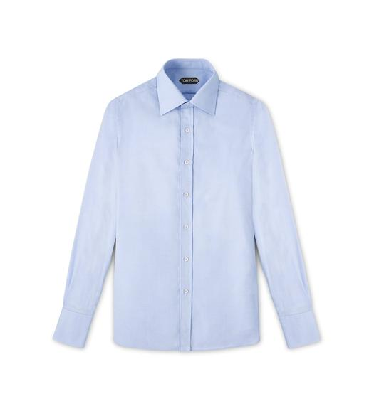 CLASSIC FIT CLASSIC COLLAR - BARREL CUFF SHIRT
