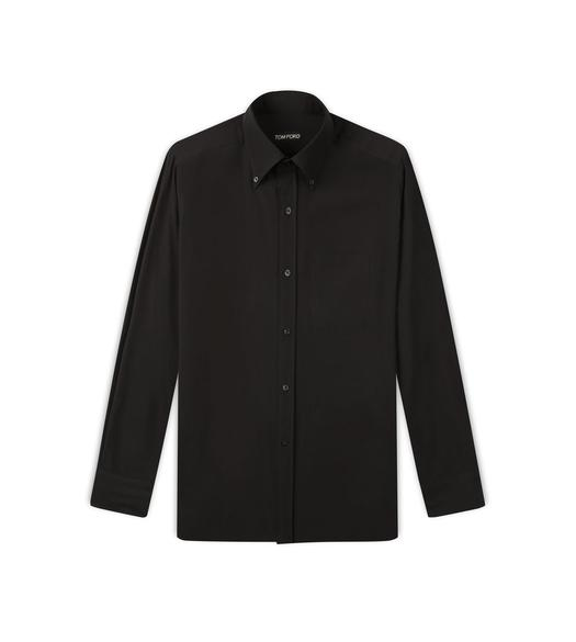 WASHED CREPE DE CHINE SPORT SHIRT