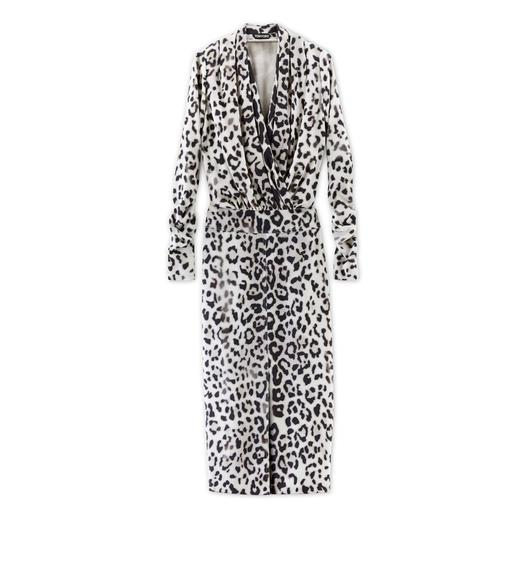 JAGUAR PRINTED SABLE DRESS