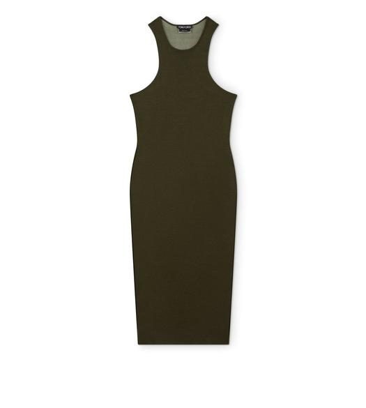 CASHMERE SILK TANK DRESS