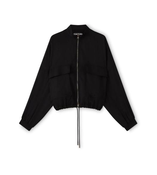 OVERSIZED DRAWSTRING JACKET