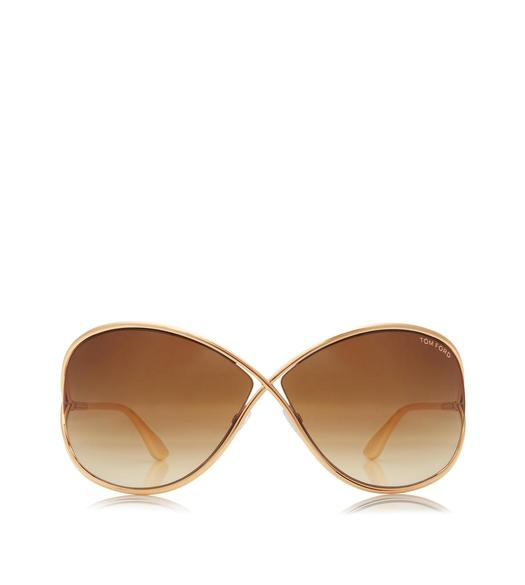 Miranda Oversized Soft Square Sunglasses