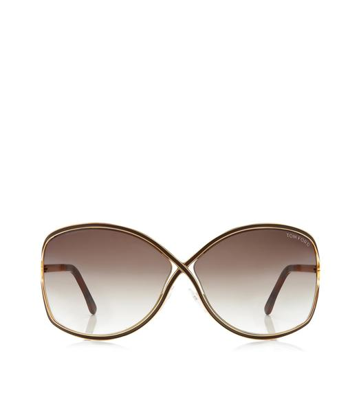 Rickie Oversized Soft Square Sunglasses