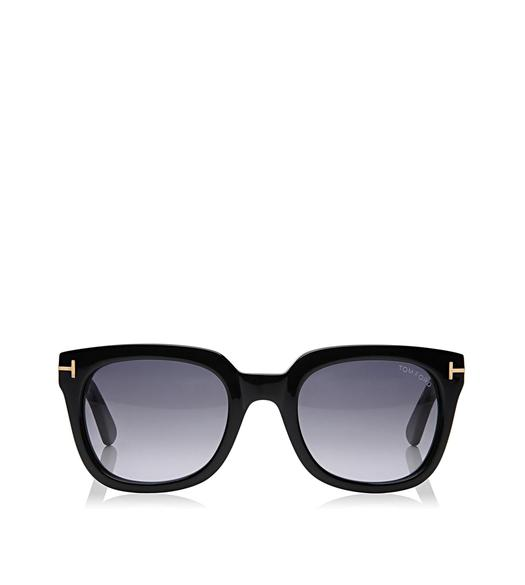Campbell Shiny Square Sunglasses