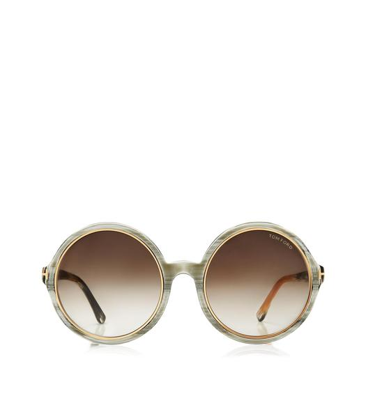 Carrie Vintage Round Sunglasses