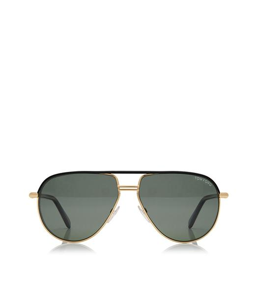 Cole Aviator Polarized Sunglasses