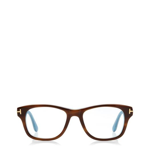Wide Soft Square Optical Frame