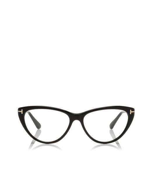 Round Cateye Optical Frame
