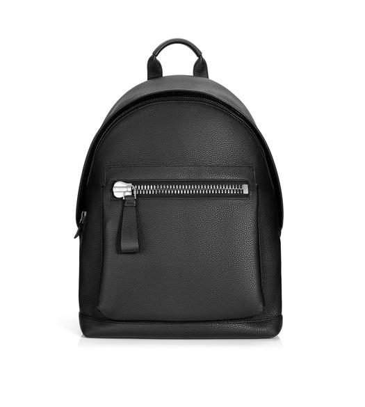 BUCKLEY GRAINED LEATHER BACKPACK