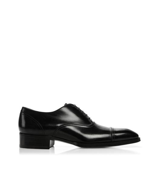 GIANNI LACE UP CAP TOE