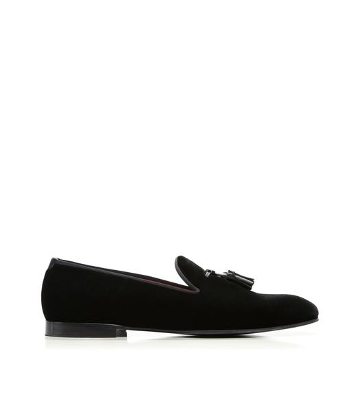 William Velvet Evening Slipper