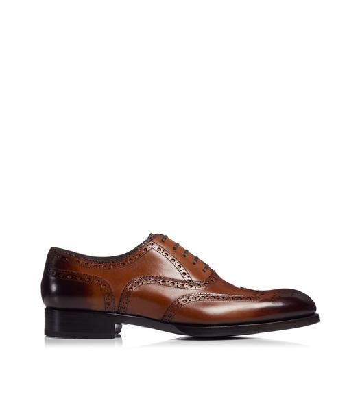 EDWARD WING TIP BROGUE LACE UP