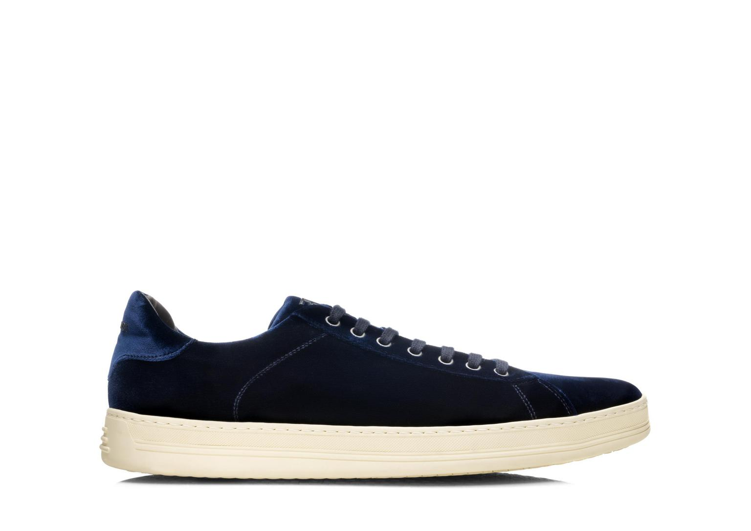 Russel Velvet Low Top Sneaker