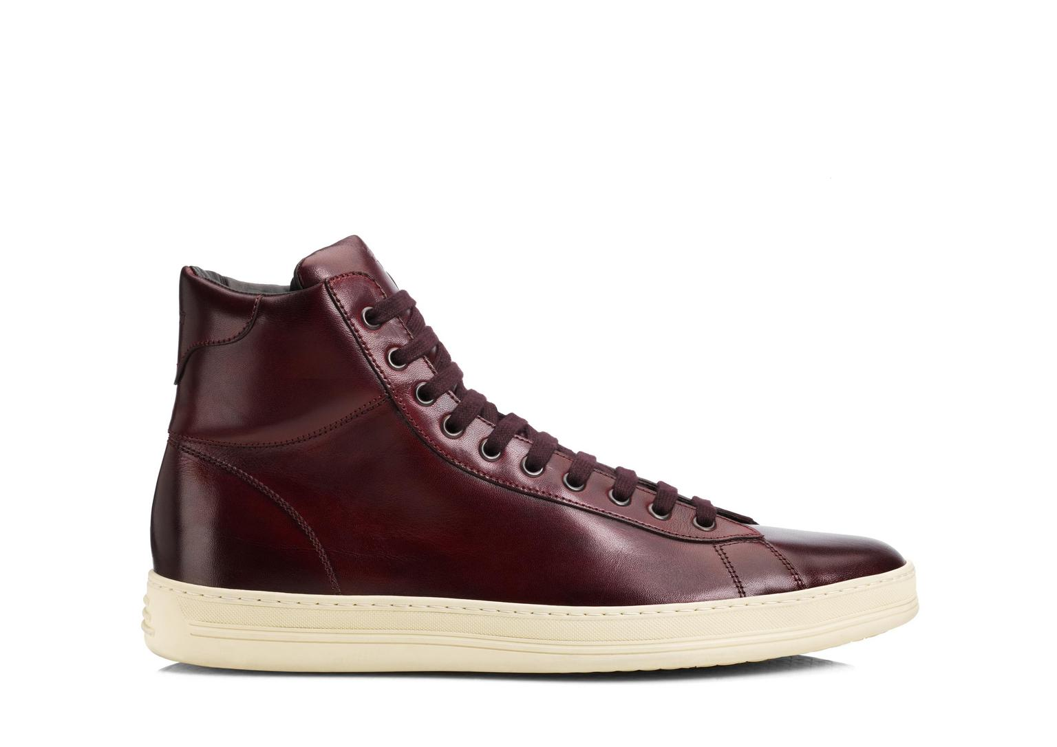 Russel Leather High Top Sneaker