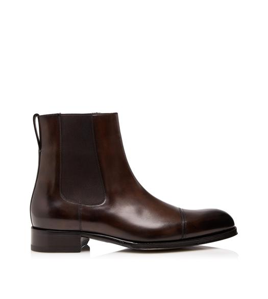 EDGAR LEATHER CHELSEA BOOT
