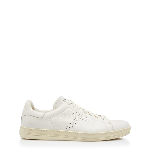 WARWICK GRAINED LEATHER SNEAKER