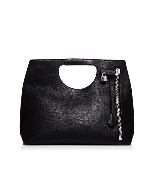 Alix Tote With Silver Zip