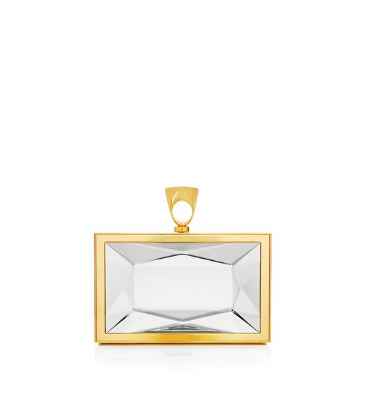 CRYSTAL RING CLUTCH