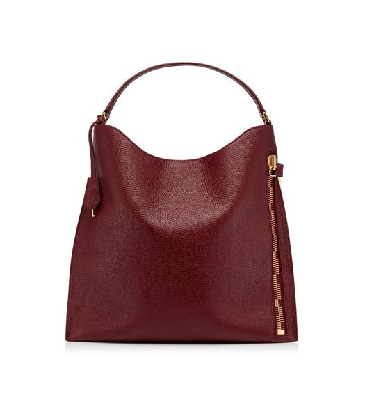 LARGE GRAIN LEATHER ALIX HOBO