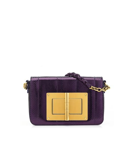 PYTHON MEDIUM NATALIA CHAIN BAG