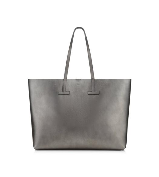 MEDIUM LAMINATED T TOTE