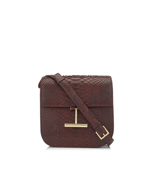 PYTHON MINI TARA CROSSBODY BAG