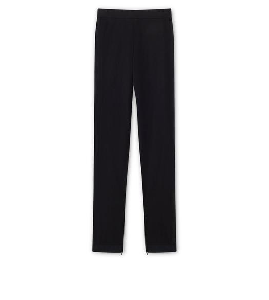 FINE CASHMERE SILK KNITTED TROUSERS