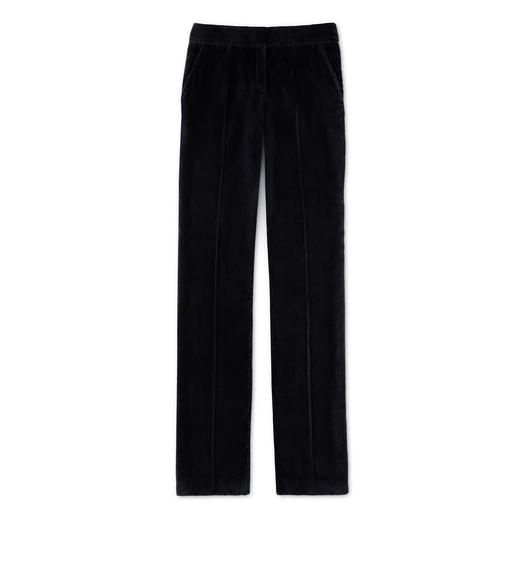 GABARDINE STRETCH TAILORED STRAIGHT LEG PANT