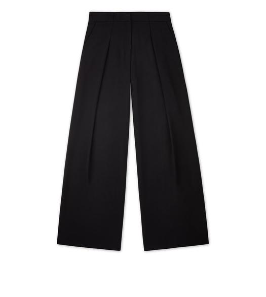 WIDE-LEG PANT WITH PLEAT