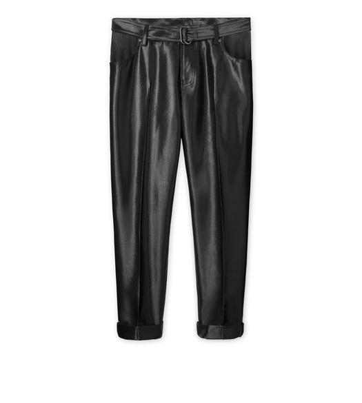 LUREX BOYFRIEND PANTS