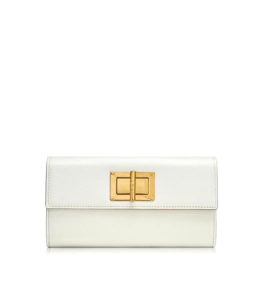 Natalia Large Continental Turn-Lock Wallet
