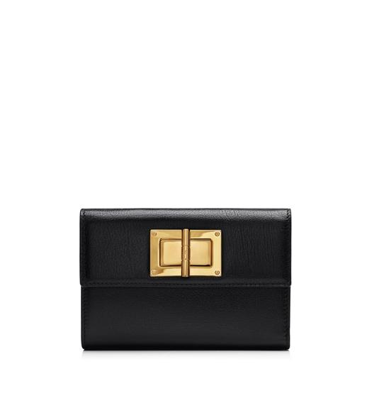 Natalia Small Continental Turn-Lock Wallet